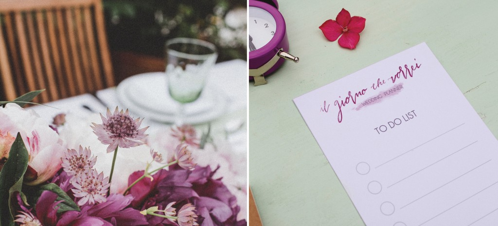 Matrimonio: to do list